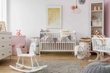 room of newborn baby